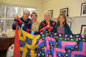 Belknap Mill Quilt Guild Pledges to Donate Comfort Quilts for Spaulding Residential Students
