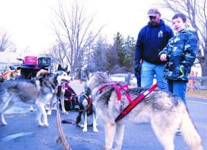 Spaulding Youth Center Hosts Dog Sled Demo Day During Winter Carnival Celebrations