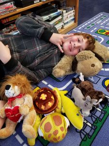 Franklin Savings Bank Employee Donates Stuffed Animals to Spaulding Youth Center