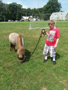 Back in the Saddle Equine Therapy Center Visits Spaulding Youth Center