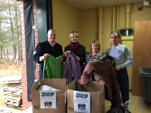 NHHEAF Network Organizations Donate Winter Coats to Spaulding Youth Center