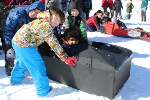 Spaulding Youth Center Holds Winter Carnival Celebration