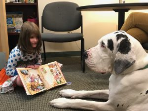 Therapy Dog Brings Joy to Children at Spaulding Youth Center